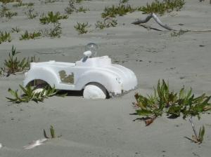 Dune Buggy:  found art.
