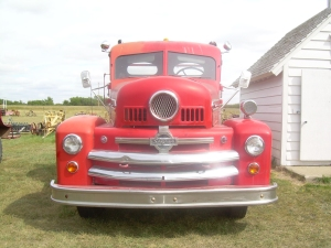 Another Red Fire Engine